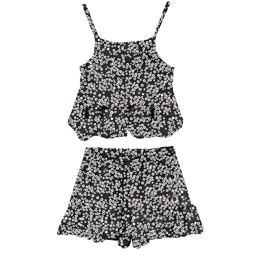 Completo girl top e shorts st.nero/margherite