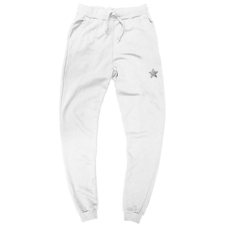 Jogging girl stella marsch piombo bianco cotone