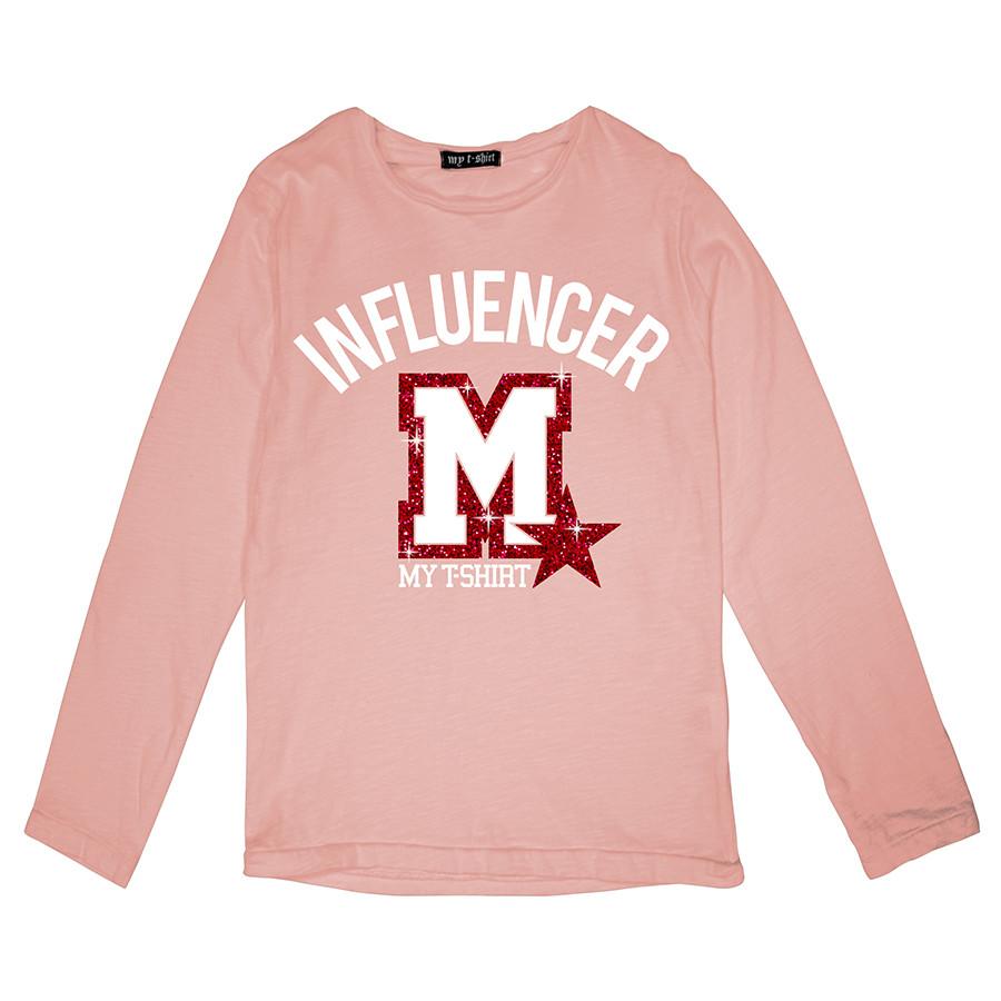 T-shirt m/l rocker girl influencer m pin