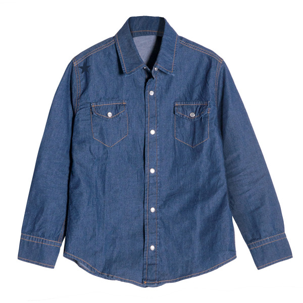 Camicia denim boy m/l denim stella flock navy denim bl