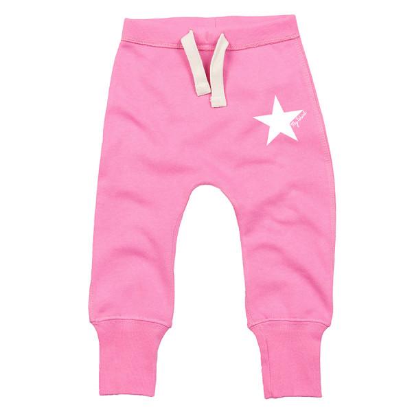 Pantaloni felpati baby stella bianca fuxi