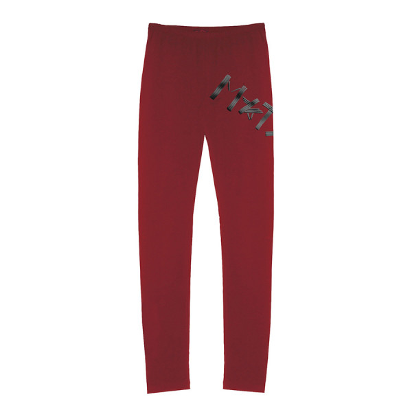 Leggings jersey bistretch m*tsh lines rigonf bordeaux